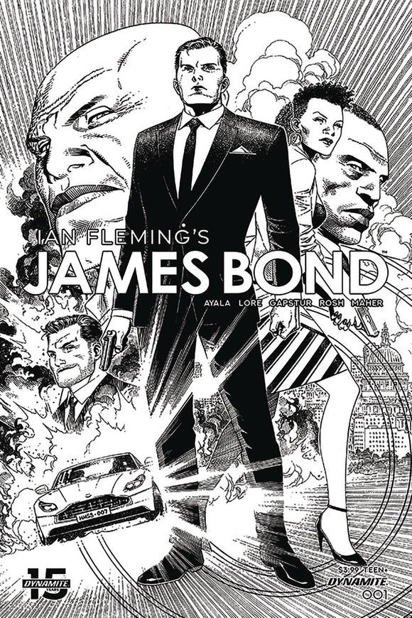 James Bond (2019) #1 (1:10 CHEUNG B&W INCV)