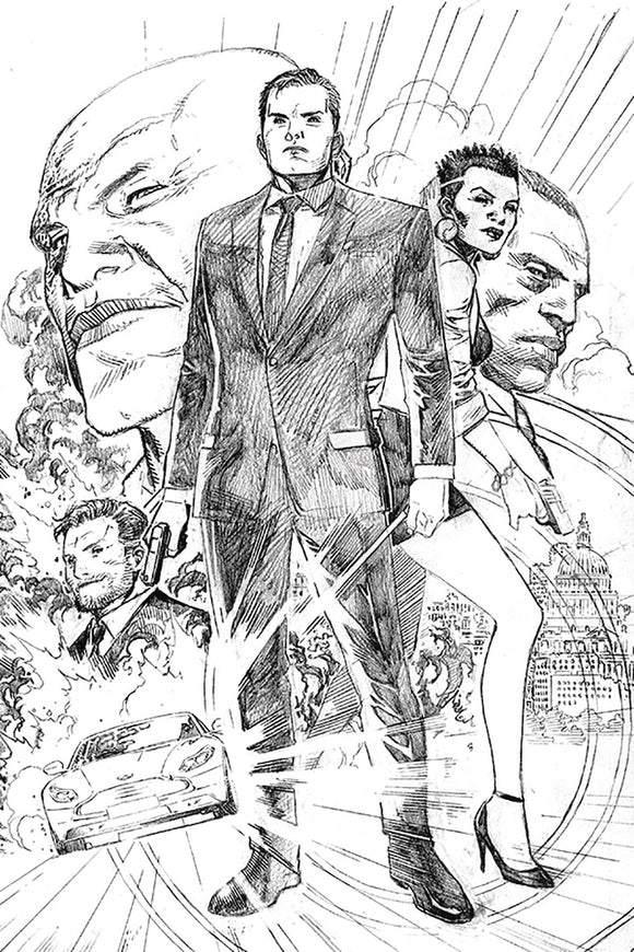 James Bond (2019) #1 (1:20 CHEUNG PENCIL INCV)