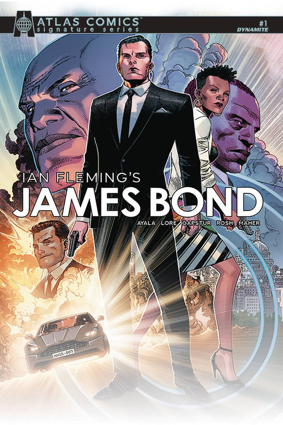 James Bond (2019) #1 (AYALA & LORE SGN ATLAS ED)