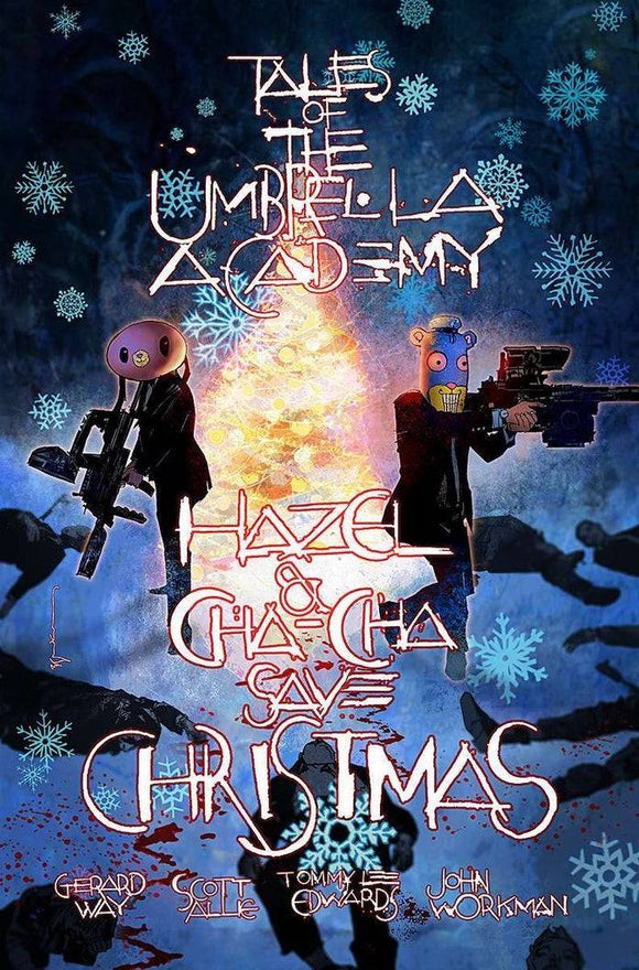 Hazel & Cha Cha Save Christmas Tales Umbrella Academy (2019) #1 (Local Comic Shop Day Variant)