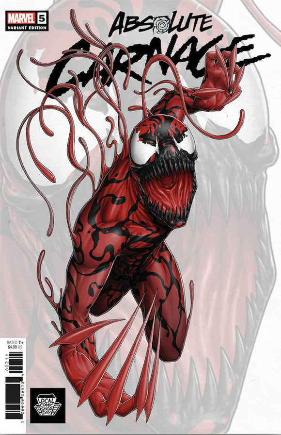 Absolute Carnage (2019) #5 (Local Comic Shop Day Variant)