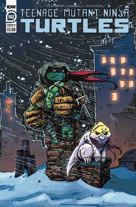 Teenage Mutant Ninja Turtles (2011) #102 CVR B EASTMAN