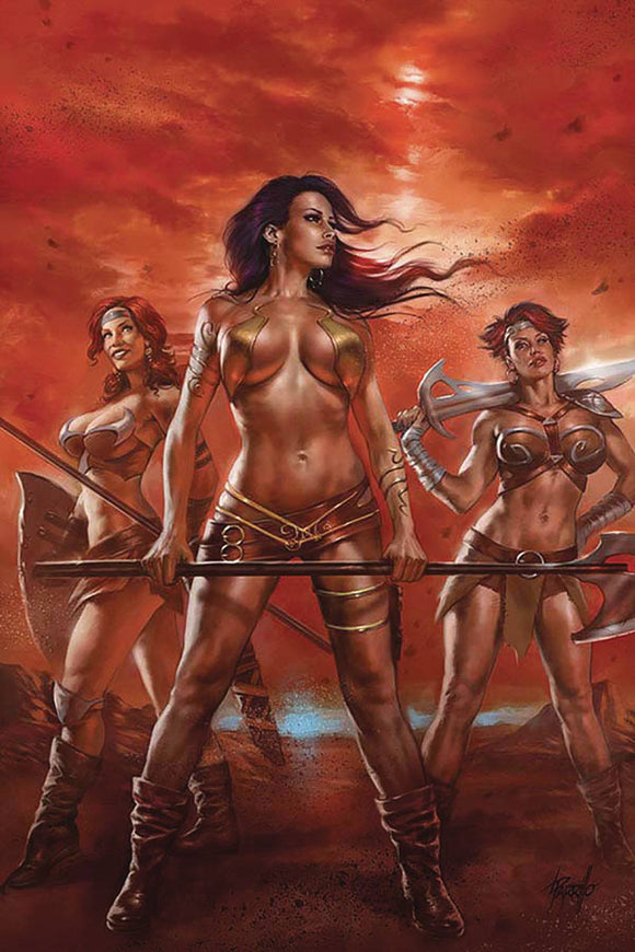 Dejah Thoris (2019) #2 PARRILLO LTD VIRGIN CVR