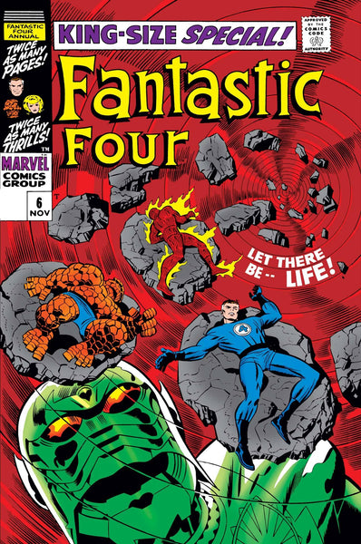 FANTASTIC FOUR ANNUAL #6 FACSIMILE EDITION