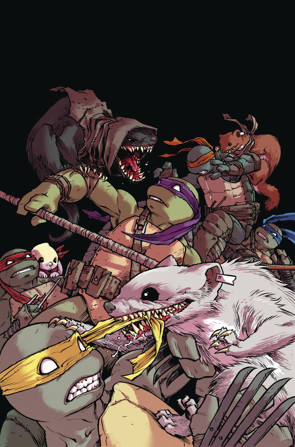 Teenage Mutant Ninja Turtles (2011) #103 (CVR A CAMPBELL)