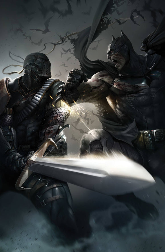 Batman (2016) #89 (CARD STOCK FRANCESCO MATTINA VAR ED)