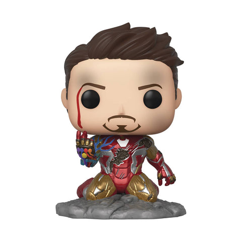 POP AVENGERS ENDGAME I AM IRON MAN PX GLOW-IN-THE-DARK DELUXE VINYL FIGURE