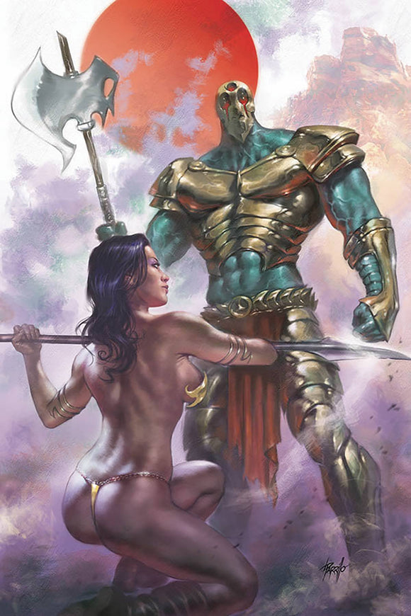 Dejah Thoris (2019) #3 (PARRILLO LTD VIRGIN CVR)