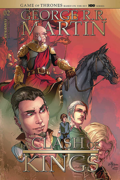 George R.R. Martin A Clash of Kings (2020) #2 (CVR B RUBI)