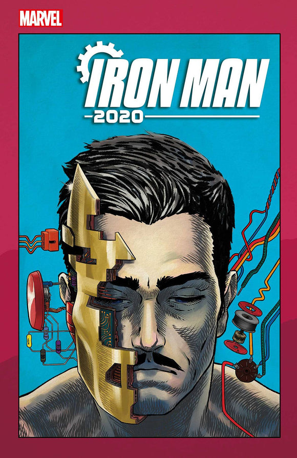 Iron Man 2020 (2020) #2 (SUPERLOG HEADS VAR)