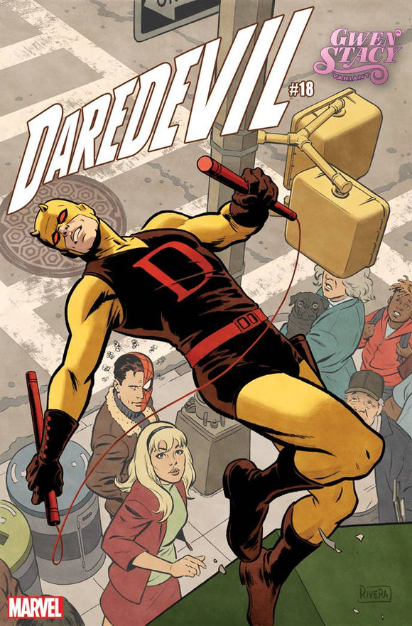 Daredevil (2019) #18 (RIVERA GWEN STACY VAR)