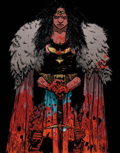 Wonder Woman Dead Earth (2019) #2 (DANIEL JOHNSON VAR ED)