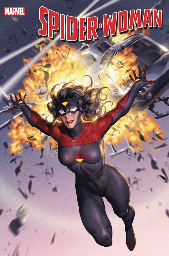 Spider-Woman (2020) #1 YOON NEW COSTUME CVR