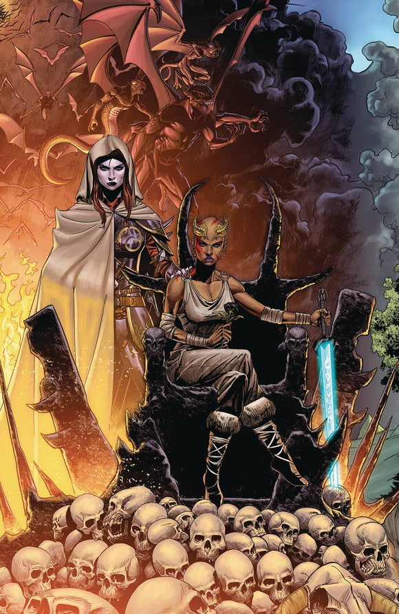 Niobe She is Death (2019) #3 CVR A MITCHELL