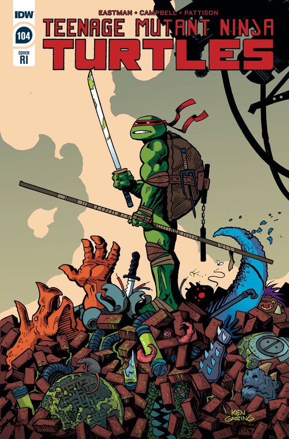 Teenage Mutant Ninja Turtles (2011) #104 10 COPY INCV GARING