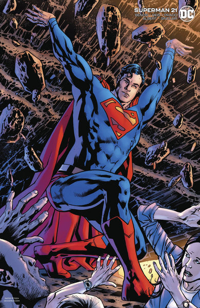 Superman (2018) #21 BRYAN HITCH VAR ED