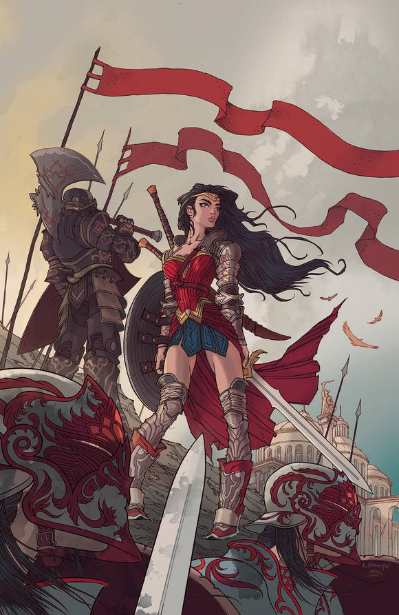 Wonder Woman (2016) #754 CARD STOCK RAFAEL GRAMPA VAR ED