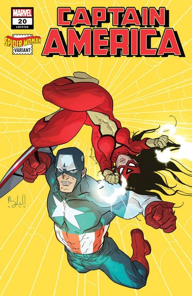 Captain America (2018) #20 CALDWELL SPIDER-WOMAN VAR