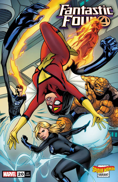 Fantastic Four (2018) #20 LUPACCHINO SPIDER-WOMAN VAR