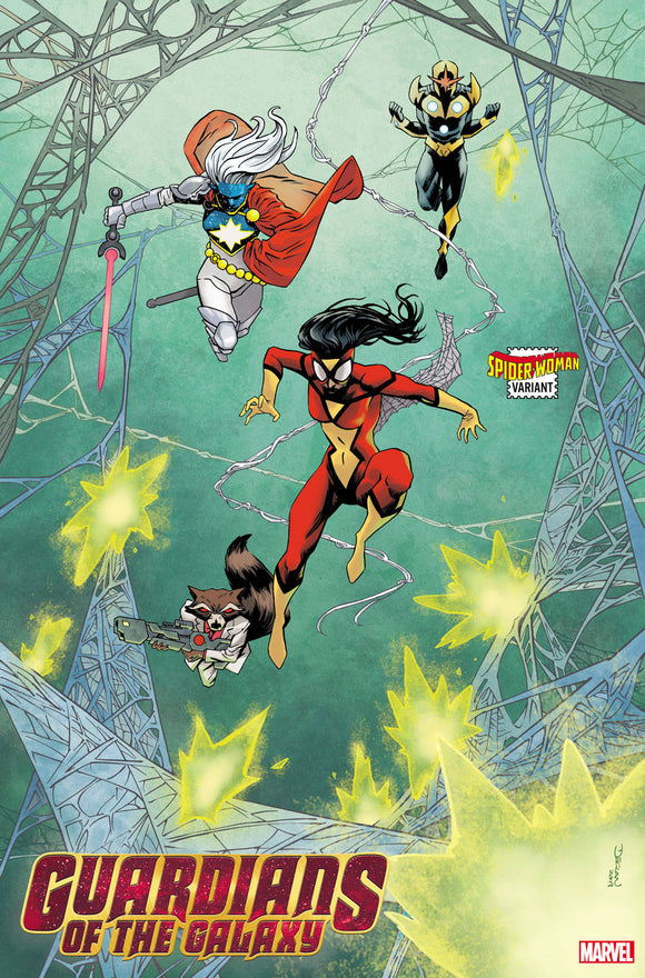 Guardians of the Galaxy (2020) #3 SHALVEY SPIDER-WOMAN VAR