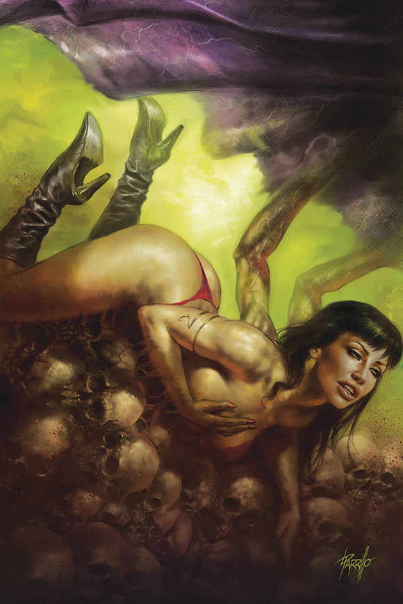 Vampirella (2019) #9 PARRILLO LTD VIRGIN CVR