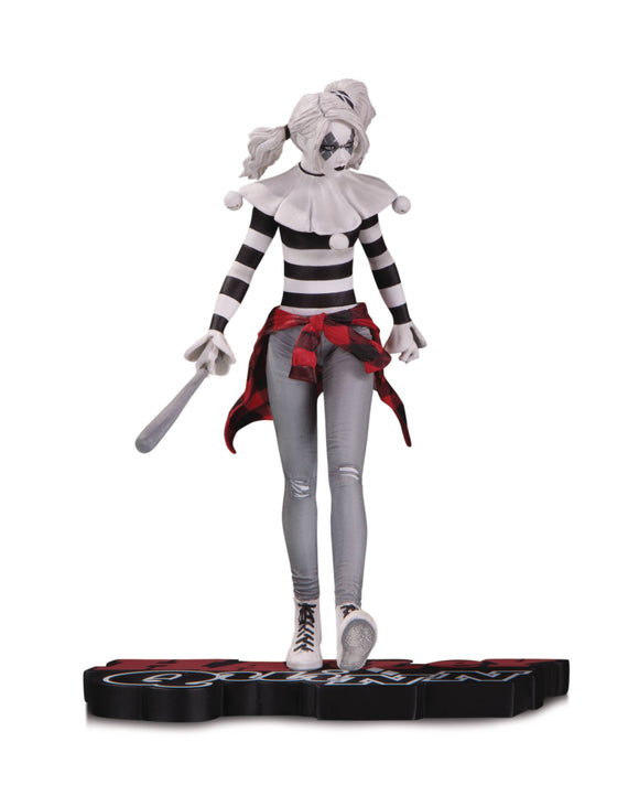 HARLEY QUINN RED WHITE AND BLACK BY STEVE PUGH STATUE