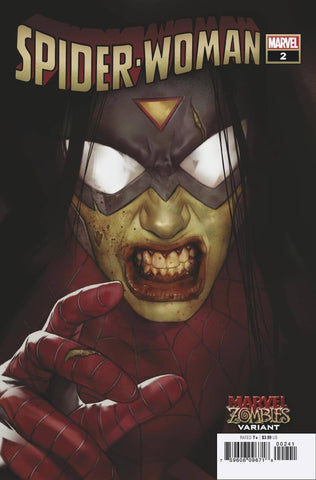 Spider-Woman (2020) #2 OLIVER MARVEL ZOMBIES VAR