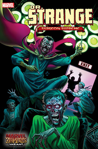 Dr Strange (2019) #5 LUKE ROSS MARVEL ZOMBIES VAR