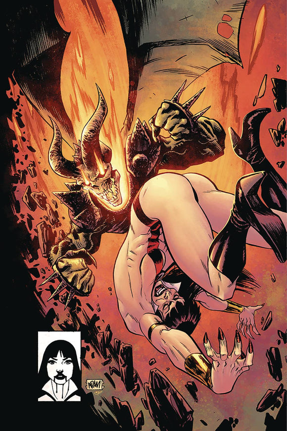 Vampirella (2019) #10 GORHAM LTD HOMAGE VIRGIN CVR