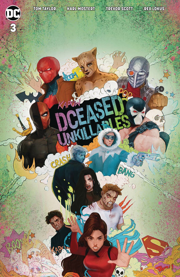 Dceased Unkillables (2020) #3 CARD STOCK HORROR  TASIA MS VAR ED