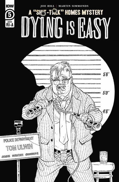 Dying is Easy (2019) #5 10 COPY INCV B&W RODRIGUEZ
