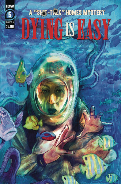Dying is Easy (2019) #5 CVR A SIMMONDS