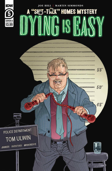 Dying is Easy (2019) #5 CVR B RODRIGUEZ