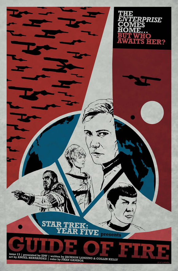 Star Trek Year Five (2019) #13 10 COPY INCV LENDL