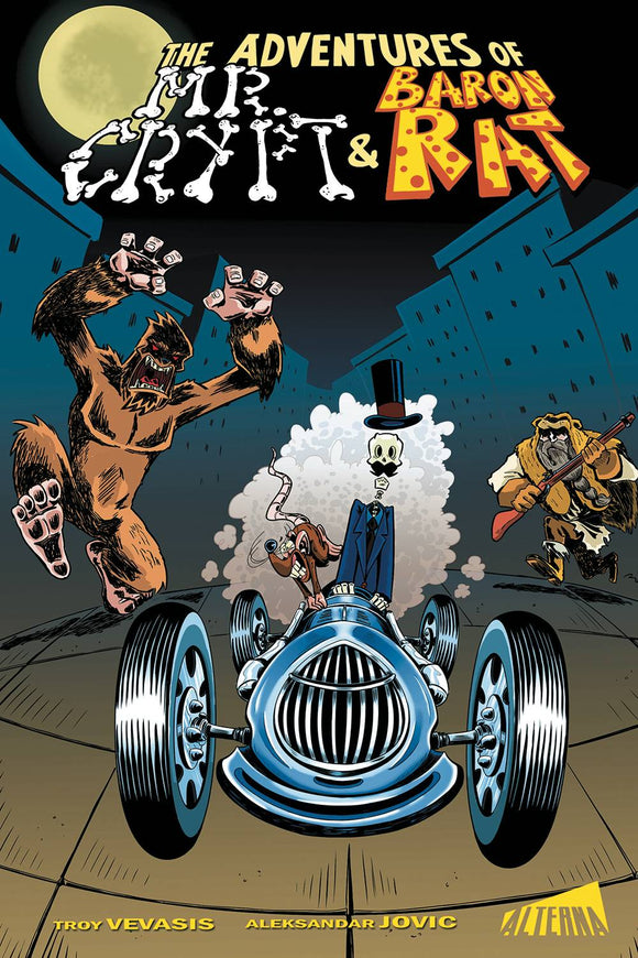 ADVENTURES OF MR CRYPT & BARON RAT TP