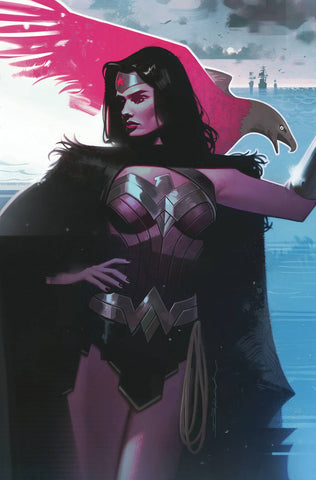 Wonder Woman (2016) #758 CARD STOCK JEFF DEKAL VAR ED