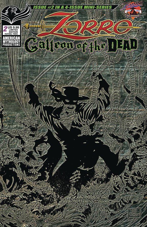 Zorro Galleion of the Dead (2020) #2 CVR B PULP LTD ED