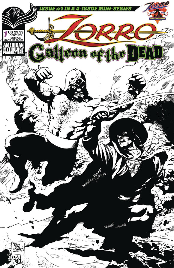 Zorro Galleion of the Dead (2020) #1 CVR C CENTURY LTD ED