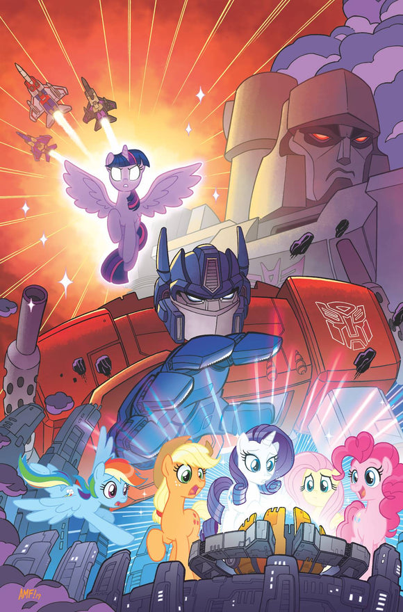 My Little Pony Transformers (2020) #1 100 COPY INCV