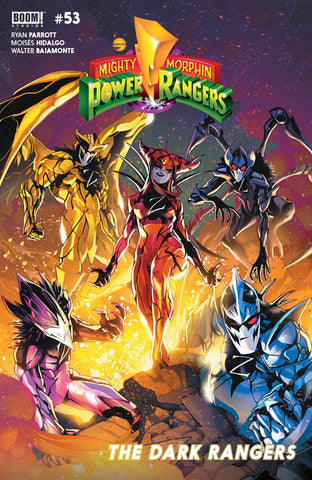 Mighty Morphin Power Rangers (2016) #53 CVR A CAMPBELL