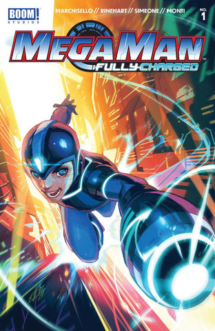 Mega Man Fully Charged (2020) #1 CVR A MAIN