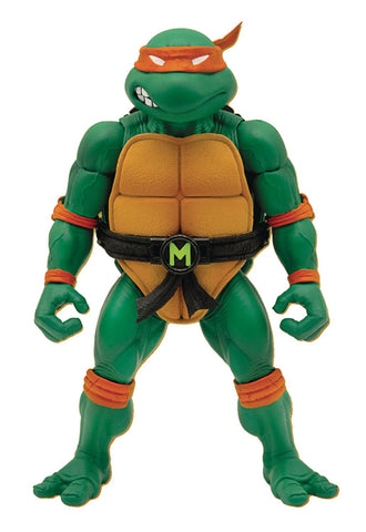 TEENAGE MUTANT NINJA TURTLES ULTIMATES WAVE 3 MICHELANGELO ACTION FIGURE