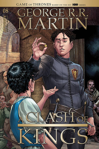 GEORGE RR MARTIN A CLASH OF KINGS #8 CVR A MILLER