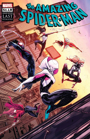 AMAZING SPIDER-MAN (2018) #51.LR COELLO VAR