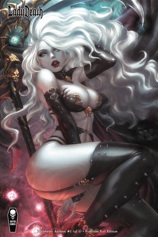 LADY DEATH BLASPHEMY ANTHEM #2 (OF 2) PREMIUM FOIL K LIM CVR