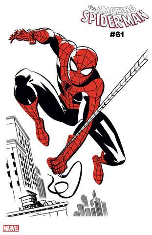 Amazing Spider-Man (2018) #61 MICHAEL CHO SPIDER-MAN TWO-TONE VAR