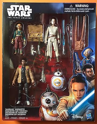 Star Wars The Force Awakens Takodana 3.75-Inch Action Figures