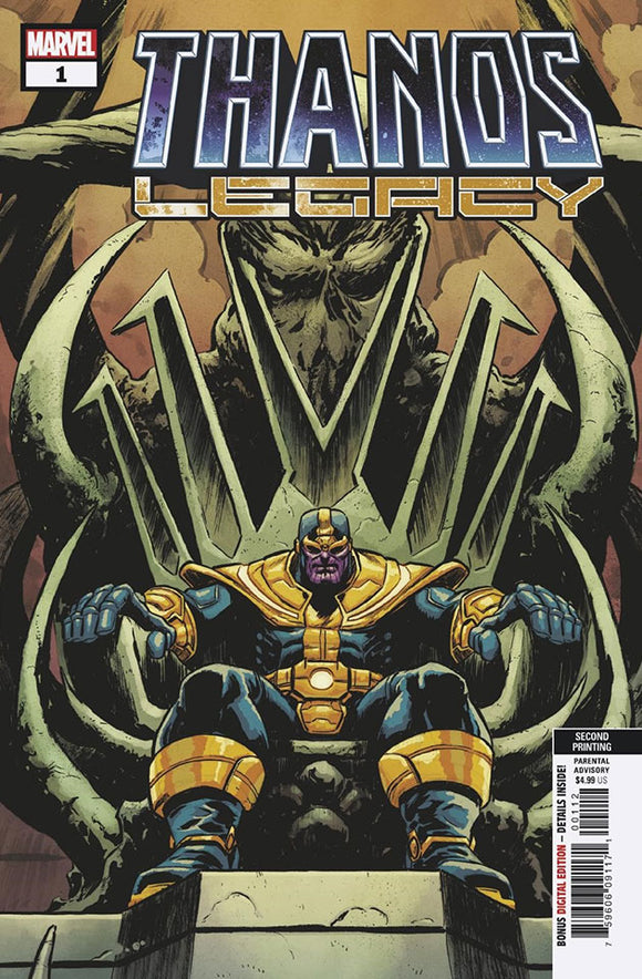 Thanos Legacy (2018) #1 (2nd Print Level Variant)