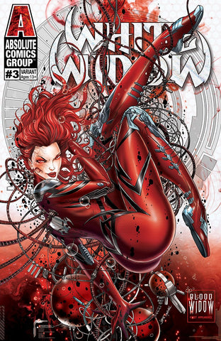 White Widow (2018) #3 (BLOOD IN THE WATER - Jamie Tyndall Signed with COA)