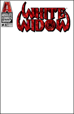 White Widow (2018) #3 (BLANK WITH RED FOIL VARIANT)